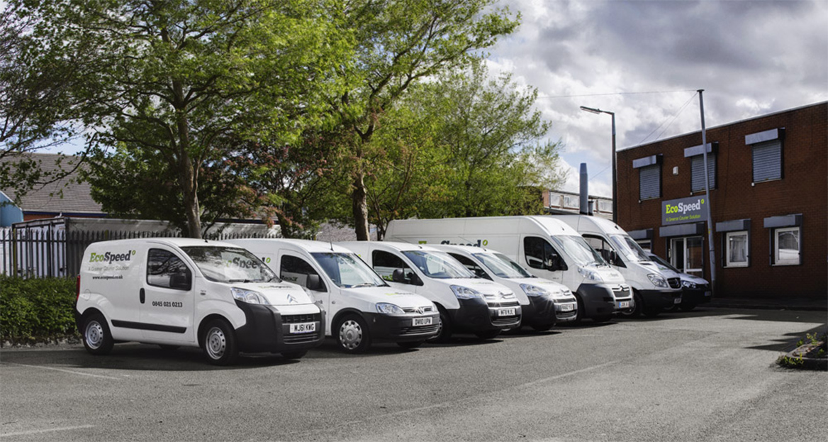 EcoSpeed Courier Vehicle Fleet
