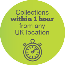 EcoSpeed Manchester same day courier collections within 1 hour from any UK location