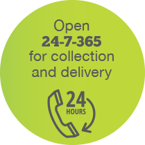 EcoSpeed 24/7 Couriers, 365 days a year