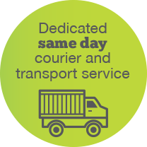 EcoSpeed Dedicated same day courier and transport service