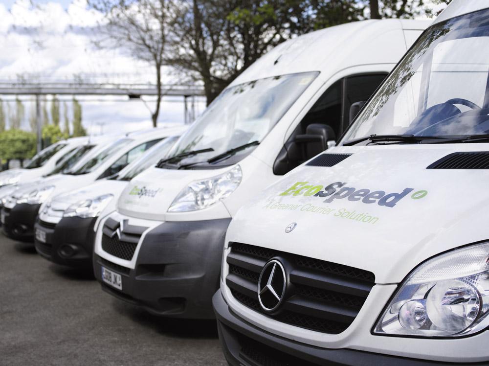 EcoSpeed Manchester Courier Vans