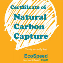 Certificate of Natural Carbon Capture 2013