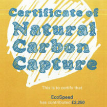 Certificate of Natural Carbon Capture 2014