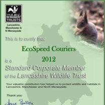 The Wildlife Trusts Standard Corporate Member 2012