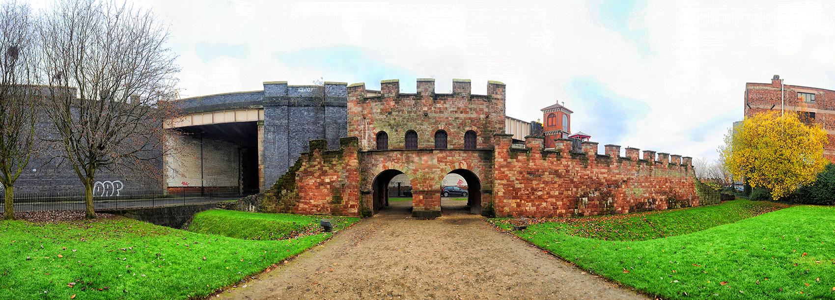Mamucium Roman Fort, Castlefield Urban Heritage Park Manchester