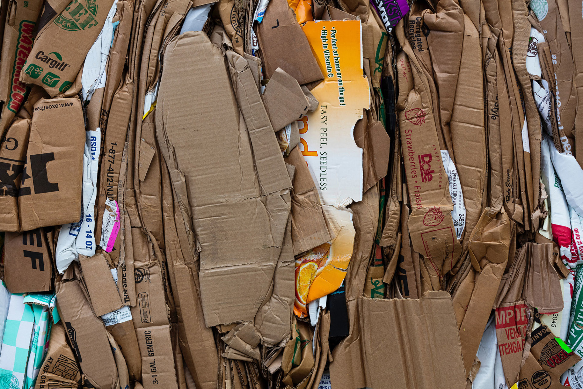 Switch to recycled paper and cardboard products