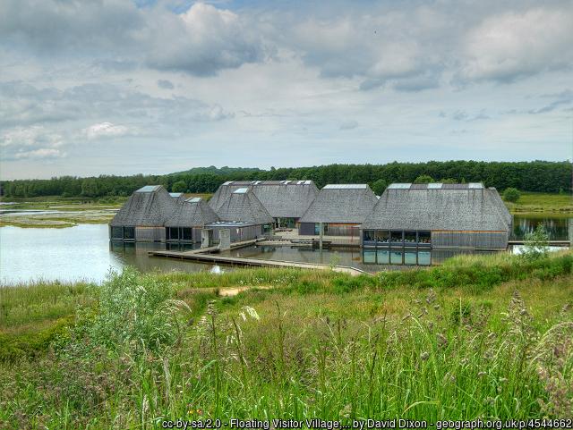 Brockholes Nature Reserve Floating Visitor Village
