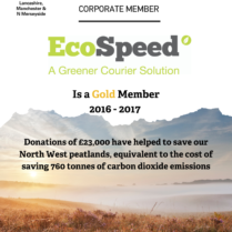 EcoSpeed Wildlife trust certificate 2016-17