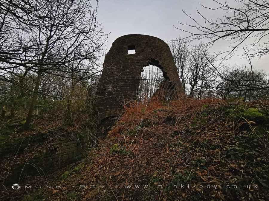 The ruins of Harrock Hill windmill