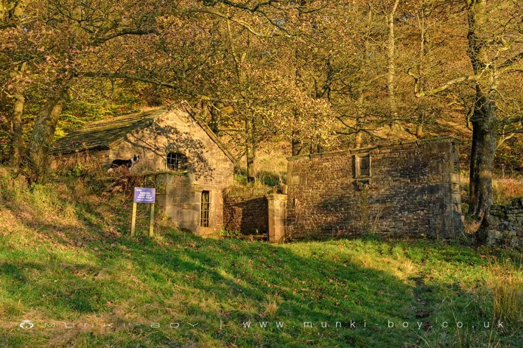 The well house standing at Hollinshead Hall